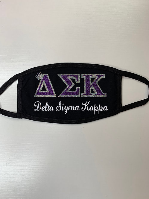 Delta Sigma Kappa Face Covering