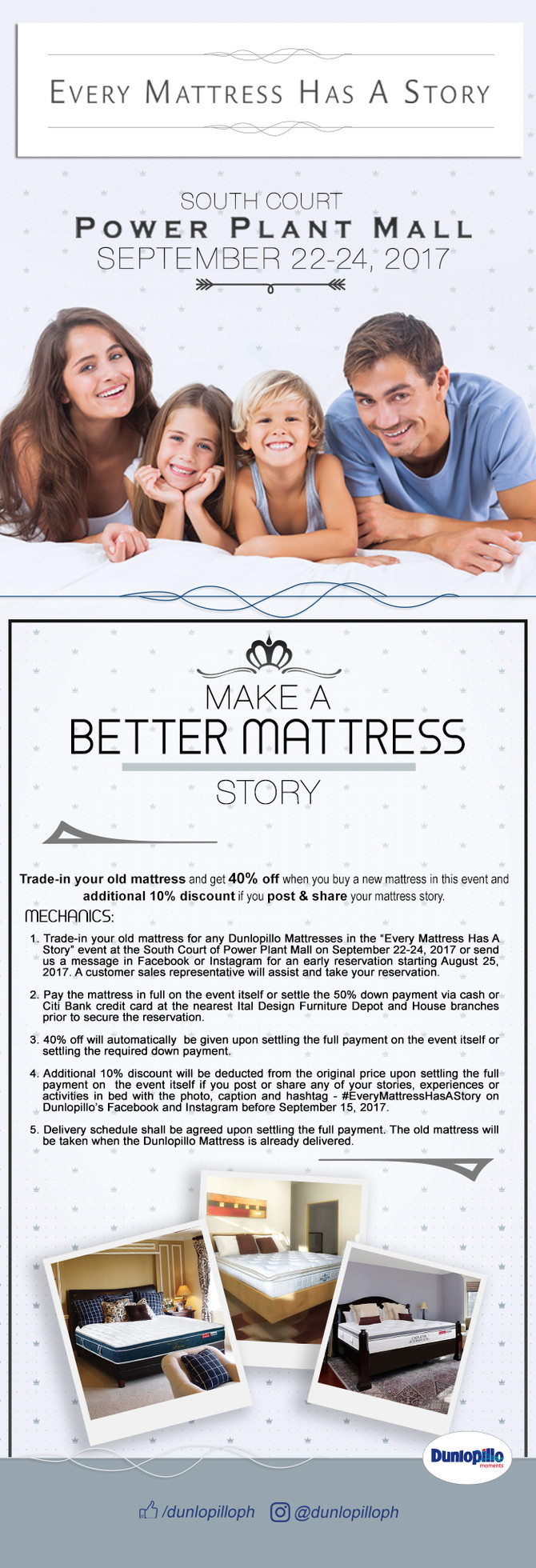 Every Mattress Has A Story - Come in this memorable exhibit!