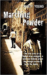 Book Cover of Marching Powder by Rusty Young