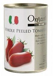 オーガニックトマトホール缶 240g