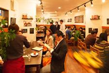 スペイン料理店エステーリャ店内の様子