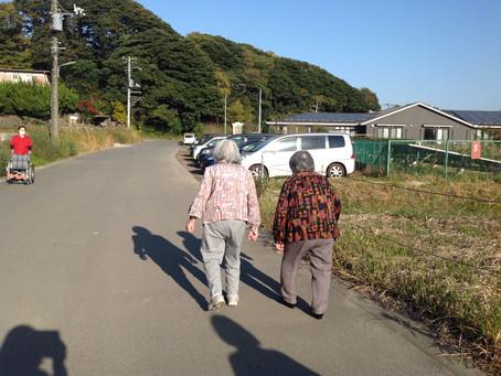 秋の散歩と文化祭 ~ きさらぎ荘・うめの香