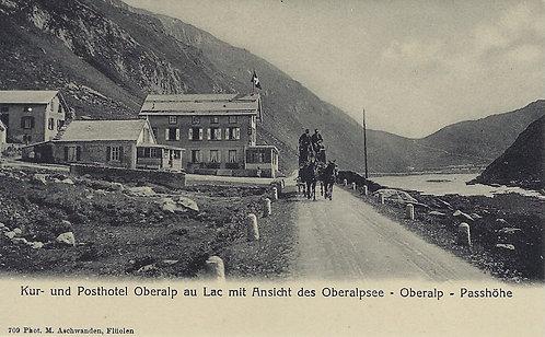 Andermatt / Oberalp Ansichtskarte