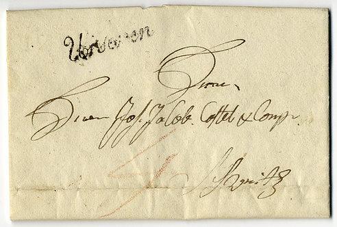 Urseren / Andermatt 1817
