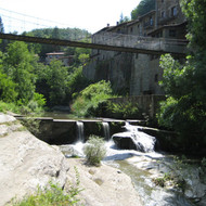 WWTP and collectors of Rupit and Pruit