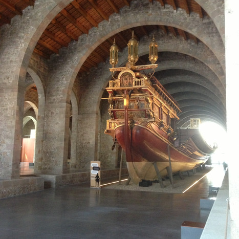 Adaptation of spaces and facilities to the museographic needs of the Maritime Museum of Barcelona