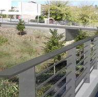 Bridge over the Olm torrent and urbanization of the B-124 road to Monistrol de Calders
