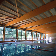 Indoor swimming pool in Vallirana