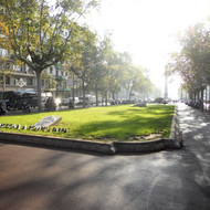 Replacement of the curbs of Passeig de Gràcia