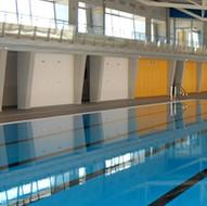Municipal indoor pool in Seseña