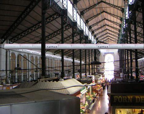 Mercat de la Independència air conditioning, Terrassa