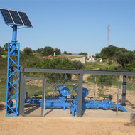 Support irrigation in Monredons-Valls area in Flix and Riba-Roja d'Ebre
