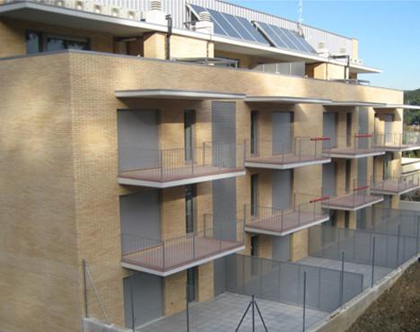 5 buildings residential complex in Montcada i Reixac