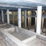 San Gabriel rainwater retention deposit in Alicante