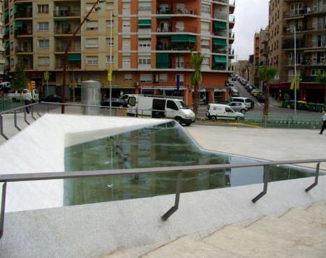 Underground parking and upper urbanization of Plaça Lluís Companys