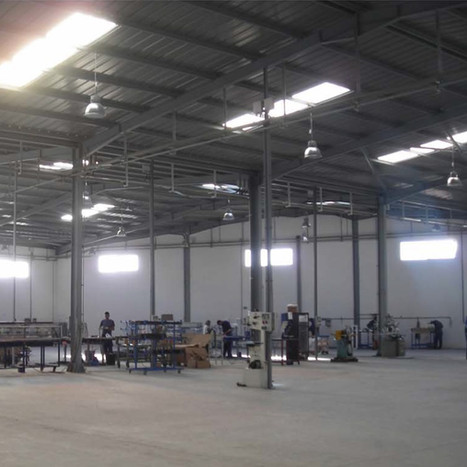 Structural project of industrial warehouse in Al-Jadida, Morocco