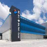 Cross Docking logistics warehouse on the BZ2 plot of la Zona Franca