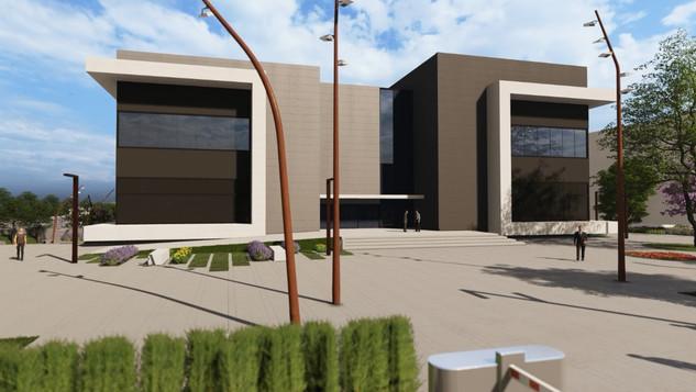 R&D building