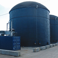 Anaerobic digester for Nufri on the Mollerussa industrial park