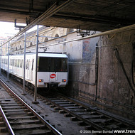 Structural safety study of two train maintenance paths in Santa Eulàlia