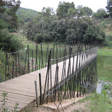 Paths and itineraries around the Vallvidrera reservoir in Collserola Park