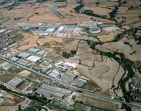 Riera de Castellolí industrial park urbanization
