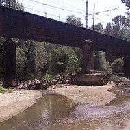 Hydraulic study of viaducts for AVE line Madrid - France