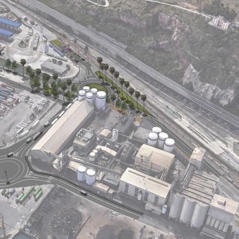 Ronda del Port urbanization. Section IV (BUNGE). Phase 2