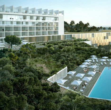 Modification and extension of Ghandouri hotel complex