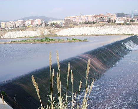 Maintenance flow contribution in Llobregat River and aquifer recuperation