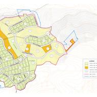 Urban development actions in Ca'l Enrich de Calafell's sector in Castellgalí