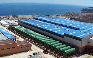 Desalting stations in Granadilla and Guía de Isoria (Tenerife)