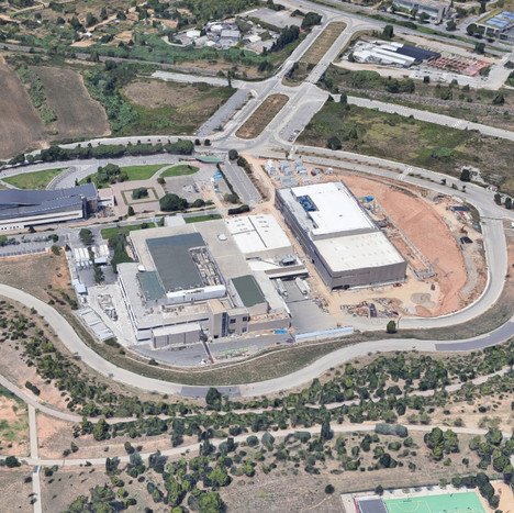 Stabilization of the southern slope of Can Mates industrial park in Sant Cugat del Vallès