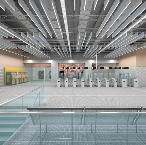 Ventilation study of Eix Macià station in Sabadell