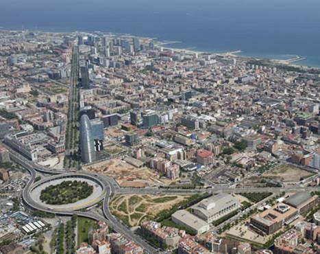 Urbanization of Almogàvers street in 22@ district