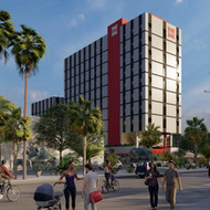 Ibis Hotel preliminary draft in Guayaquil