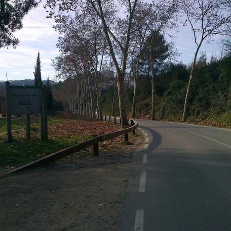 BP-1413 road drainage in Cerdanyola
