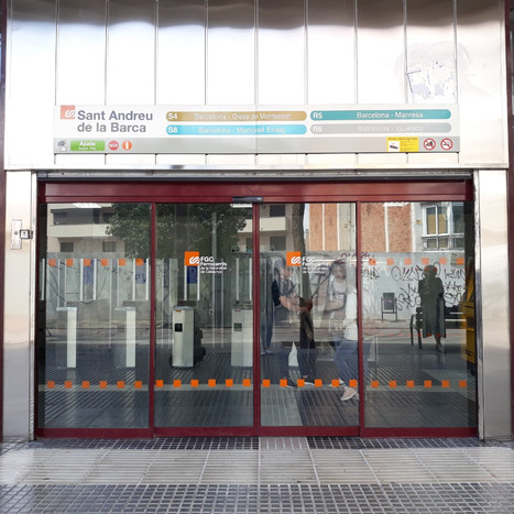 Reformation of Sant Andreu de la Barca FGC station