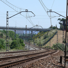 Orbital railway line. Section III Sabadell-Montmeló