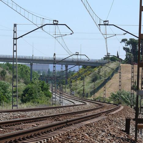 Orbital railway line. Section III Sabadell-Montmeló