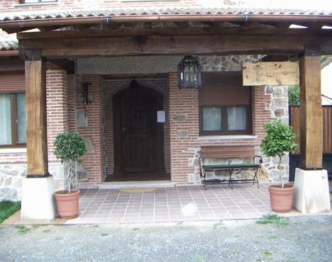 """La Galamperna"" rural tourisme hotel facilities in Nava del Barco"