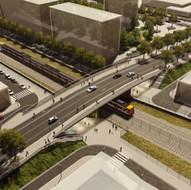 Improvement of connectivity on Santander Street Bridge