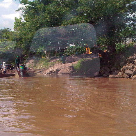 Flood areas identification in the Magdalena River, Colombia