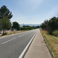 Conditioning of the T-342 road from Roquetes to Reguers