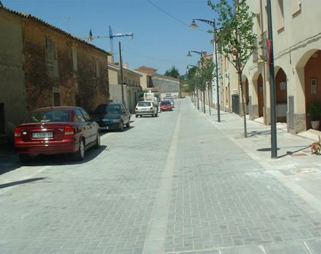 Urbanization of Barceloneta neighborhood