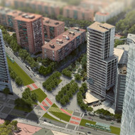 Improvement of connectivity between Rambla Prim and Diagonal in the Forum of Barcelona area