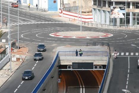 Mouqaouama Boulevard tunnel in Casablanca