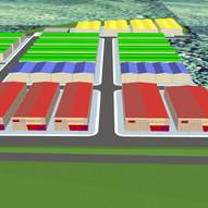 """Industrial buildings in """"Les Peces"""" industrial park in Albinyana"""