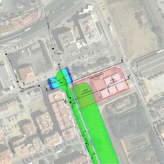 CEIP Poblenou flood study in Pineda de Mar