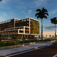 Preliminary draft of an Hotel at Avenida Samborondón (Guayaquil)